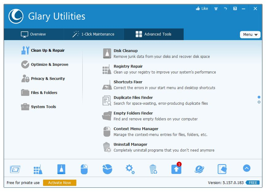 Glary-Utilities-trusted-CCleaner-Alternative