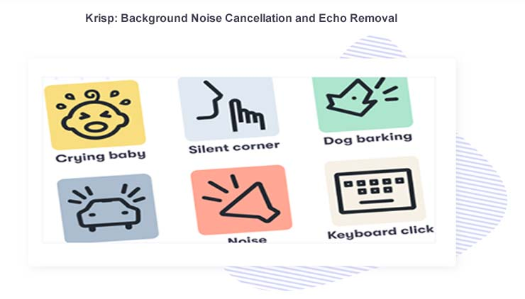Background Noise Cancellation and Echo Removal app